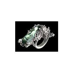 Téli kert kristály gyűrű