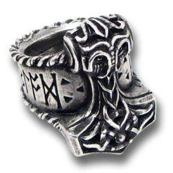 Thor rúnakalapács gyűrű