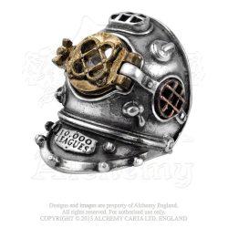 700 Fathoms gyűrű/ SteamPunk-stílusban