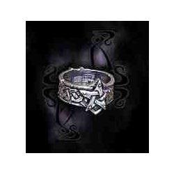 Kelta pentagram gyűrű