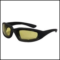 Citromsárga Motoros szemüveg