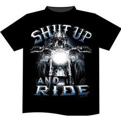 Shut Up and Ride póló