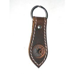 Leather SteamPunk keyholder