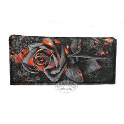 Izzó rózsás pénztárca