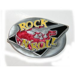 Rock and Roll gitás övcsat