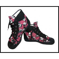 Rózsás-koponyás tornacipő