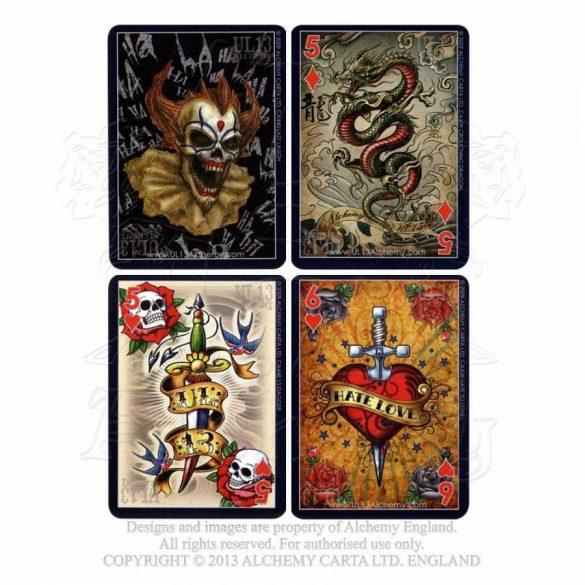 UL13 rockabilly és tattoo kártya