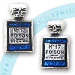 Poison No17 fülbevaló / pár