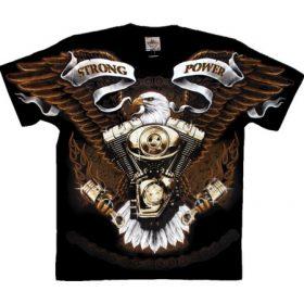 Full pattern t-shirts