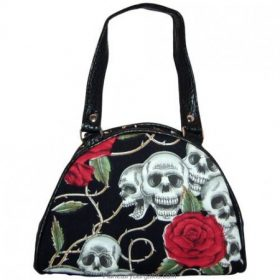 Rose, skull