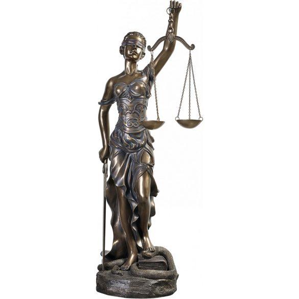 Justitia szobor
