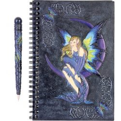 Tündéres napló tollal