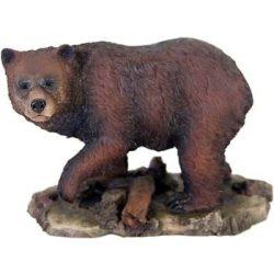 Grizzly medve szobor (figura, térplasztika)(ursus arctos horribilis)